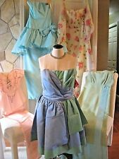 Vintage Clothing Lot 40s 50s 60s dress dresses 5 piece lot as is