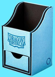 DRAGON SHIELD NEST PLUS 100 BLUE / BLACK CARD STORAGE BOX compartment case mtg