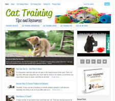 * CAT TRAINING TIPS * turnkey website business for sale w/ AUTOMATIC CONTENT!