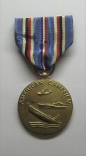VINTAGE WW II American Campaign Military Medal AGED
