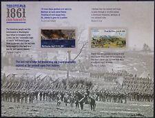 USA 2011 Civil War 1861 Lincoln Slavery Summer Washington Virginia Pane-12 MNH
