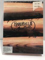 "1991 Hardball II Accolade IBM PC 3.5"" Disk Brand New Sealed Box"