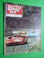 Autosprint 1971/23 Ferrari IN le Mans Alfa Romeo Porsche Vallelunga