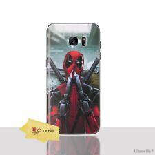 Deadpool Funda/samsung Galaxy S7 / protector de Pantalla/gel/sniffing Guns