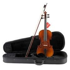 Aileen Solidwood Ebony Violin Outfit with Case, Rosin, Strings Shoulder Rest 4/4