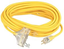 Cci� 03488 Polar/solar Outdoor Extension Cord, 50ft, Three-outlets, Yellow