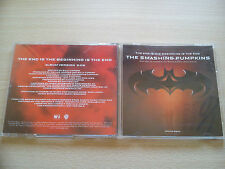 THE SMASHING PUMPKINS –''THE END IS THE BEGINNING IS THE END''– U.S.A. PROMO CD