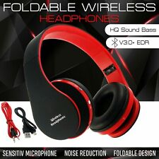 Wireless Bluetooth Headphones Foldable Headset Stereo Earphones With Mic