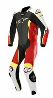 TUTA ALPINESTARS MISSILE LEATHER SUIT INTERA COMP. AIRBAG TECH-AIR VARI COLORI
