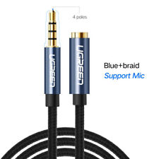 Ugreen 3.5mm Audio Extension Cable Stereo Aux Adapter for iPhone Headphone MP4