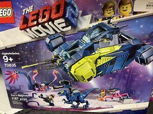 LEGO The LEGO Movie 2 Rex's Rexplorer! 70835, Brand New - Retired! Sealed