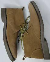 New GH Bass Mens Radley Chukka Boots Size 9.5 M Brown Suede Leather Ankle Shoes