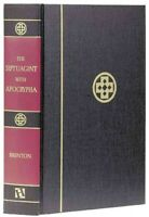 Septuagint With Apocrypha Greek and English, Hardcover by Brenton, L. C. L., ...