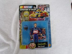 NASCAR Superstars of Racing DALE JARRETT Action Figure + Collector Card!