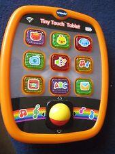 Vtech Baby Tiny Touch Tablet ORANGE