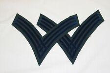 Civil War Federal Subdued Dark Blue Infantry Sergeant's Chevrons