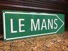 lemans Le Mans racing garage sign BMW Porsche mercedes Ferrari Ford Gt Audi