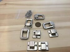 4 Pieces Y&N silver hasp small box hardware lock latch latches catches A11