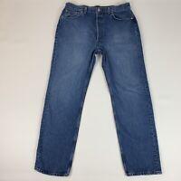 VTG 80's Levis Mens 501 Jeans Button Fly Original Fit Straight USA SZ 37x32