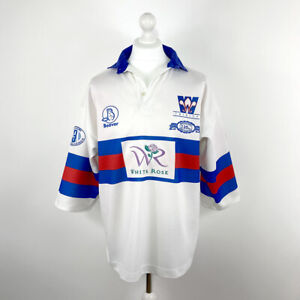 WAKEFIELD TRINITY — RUGBY LEAGUE JERSEY — BEAVER — 1998 [125th ANNIVERSARY] — XL
