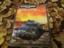 Warhammer 40k Space Marine Predator 2 en una caja