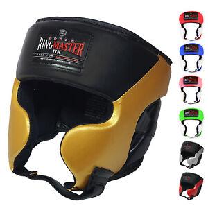 RingMaster Kids Head Guard Gear Junior Boxing Kick MMA Martial Arts Helmet