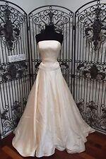 D330 LAZARO 3415 SZ 10 IVORY $2750 FORMAL WEDDING GOWN DRESS