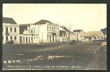 Porto Uniao rppc Praca Hercilio Luz Santa Catarina Brazil ca 1905