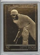 Lefty Gomez 2003 Danbury Mint Yankee Greats Sealed 22 kt Gold Card-100 Years