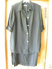 NWT Women's Jessica London Black 2-piece Dress Size  20 20W