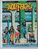 Marvel-Wolfpack-GN -1987-1st Appearance and Origin-#1,2,3-1988 Series