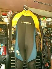Oneill Oasis Gray And Yellow SURFACE RUBBER DRYSUIT MEN LARGE