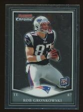 2010 Bowman Chrome Rob Gronkowski New England Patriots RC Rookie