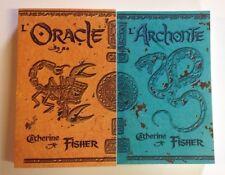 L'ORACLE - L'ARCHONTE Caherine Fisher ROMAN jeunesse livre fantastique