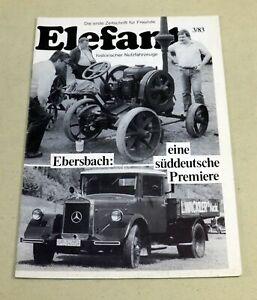 ELEFANT 3/83 , Zeitschrift für historische LKW , HiK