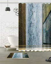 Material Property Waterproof Bath Polyester Shower Curtain Liner Water Resistant