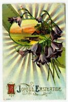 Easter A Joyful Gladness Joy Peace Sunshine Postcard Old Vintage Card View Post