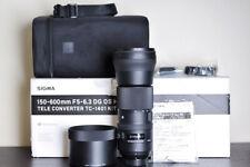 Sigma 150-600mm f/5-6.3 DG OS HSM FX Telephoto Lens - For Nikon & MINT!