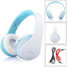 Hot Comfort Foldable Wireless Bluetooth Stereo Headset Handsfree Headphones Mic