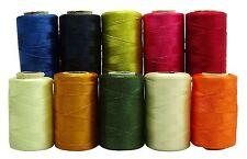 10 Stück Rollen Multicolor steppende Maschine Nähen Spool Polyester MT52A