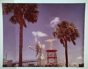 SPACE TRACKING / Orig 4x5 NASA Issued Transparency - NASA Antenna and Dish