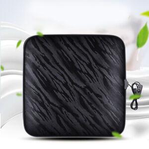 Heating Pad USB Air Heater Pad Electric Inflatable Warm Seat Heating Pad Black''