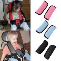 HK- 2Pcs Kids Baby Stroller Car Auto Safety Seat Belt Shoulder Pads Cover Gracio