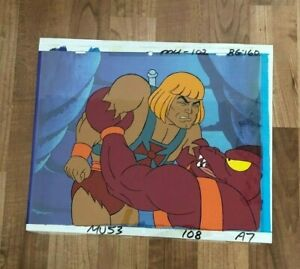 He-Man and the Masters of the Universe Animation Production Cel  Hand  Painted