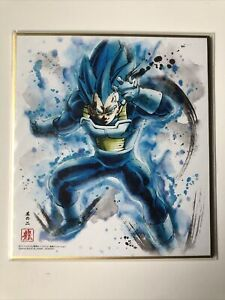Dragon Ball Shikishi Art Part 6 No.2 Vegeta Super Saiyan Blue Us Seller