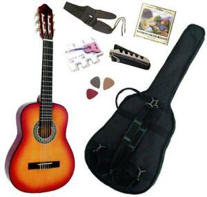 Pack Guitare Classique 1/2 Pour Enfant (6-9ans) Avec 6 Accessoires