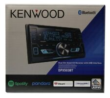 Kenwood DPX503BT 2-DIN SiriusXM Ready Bluetooth In-Dash CD/AM/FM Car Stereo NEW