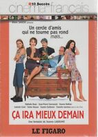 Collection Le Figaro DVD Ca Ira Mieux Demain neuf nathalie baye daniele darrieux