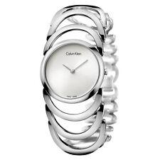Calvin Klein K4G23126 Watch Body Ladies - Silver Dial Stainless Steel Case Quart