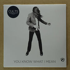 "Cults-you know what I mean ** Ltd 7"" - VINILE ** Etched B-side ** NEW ** ** programmazione a oggetti"